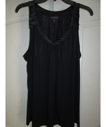 Midnight by Carole Hochman 139753 Luxurious Knit Pajamas Tank Top S Dark... - $25.64
