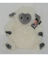Mary Meyer Brand FabFuzz Collection 67492 White And Grey Plush Pudge Sheep - $24.00