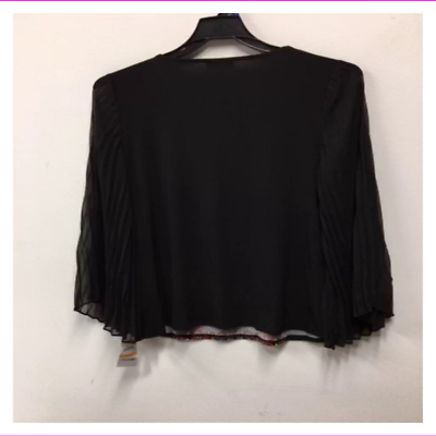 JM Collection Women's Pleated-Sleeve Embellished Blouse
