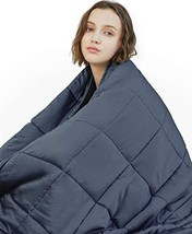 YnM Weighted Blanket 15 lbs, 60''x80'', Queen Size | 2.0 Heavy Blanket |... - $107.75