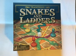 Traditions Snakes and Ladders Classic Board Game~Kids Strategy Brand New In Box - £9.35 GBP