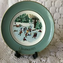 Enoch Wedgewood Avon Christmas On The Pond Fourth Edition Porcelain Plate 1976 - $11.63