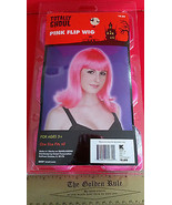 Fashion Holiday Head Accessory OSFM Pink Flip Wig Halloween Costume Prop... - $6.64
