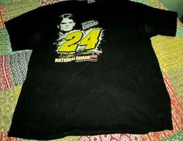 Jeff Gordon Mens National Guard Nascar Racing  t shirt XL - $5.34