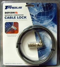 Brand New Sealed Pack!•Targus•Defcon CL•6.5 foot•Notebook Combination•Ca... - $9.99