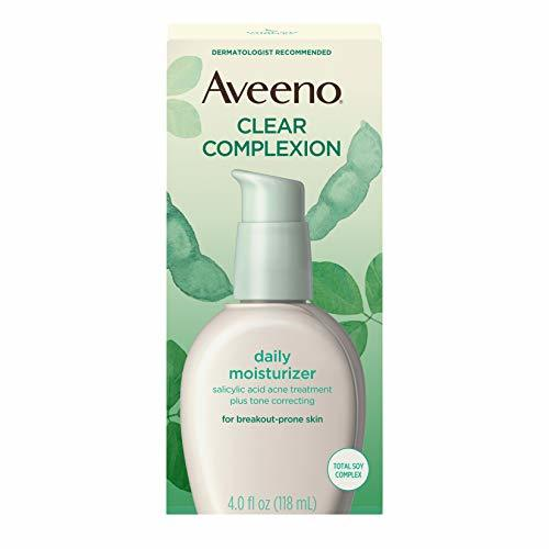 Aveeno Clear Complexion Salicylic Acid Acne-Fighting Daily Face Moisturizer with image 4