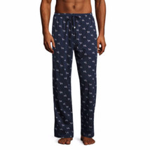Stafford Men's Knit Pajama Pants Navy Dog Size XXL New 100% Cotton - $22.76
