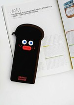Brunch Brother Silicone Pencil Pen Case Pouch Bag Organizer (Burnt Toast) image 2