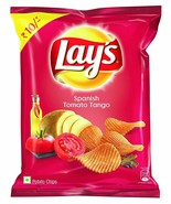 Lays Lay's India Spanish Tomato Tango 30 grams Pack 1.05 oz Potato Chips... - $4.50+