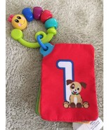 Baby Einstein Baby Cloth Crinkle Number Shape Color Spanish Cards Car Se... - $5.48