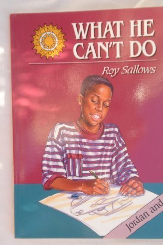 What he can't do (Jordan and Me) [Paperback] unknown