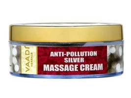 10x Vaadi Herbals Silver Massage Cream – Pure Silver dust - 50 Gms - $136.86