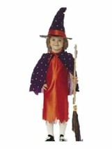 xcg130 Renaissance CALICO WITCH Halloween Costume Toddler 4-6 - $26.13