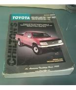 Chiltons Toyota Pick Ups,Land Cruiser,4 Runner 1989-96 Repair Manual(816... - $9.89