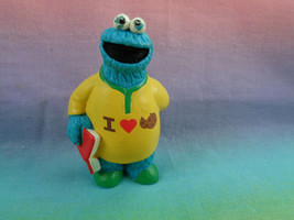 Applause Sesame Street  Muppets Cookie Monster Figure or Cake Topper - S... - $2.23