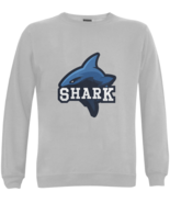 Shark Adult Apparel Sweatshirts Fish Attack Bite Sweater Gray XS-XL - $39.97