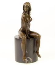 Antique Home Decor Bronze Sculpture shows Woman Erotic Bronze *Free Air ... - $259.00