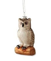 "Bethany Lowe Designs Christmas ""Owl On Twig Ornament"" Glass DA4480 - $12.99"
