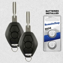 2 For 2004 2005 2006 2007 2008 2009 2010 BMW X3 X5 Z4 Keyless Car Remote... - $16.70