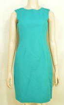 Elie Tahari dress SZ 2 LOT of 2  1 turquoise 1 floral sheath career chic lined image 2