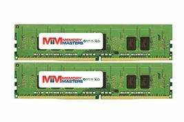 MemoryMasters 16GB (2x8GB) DDR4-2666MHz PC4-21300 ECC RDIMM 1Rx8 1.2V Registered - $88.57