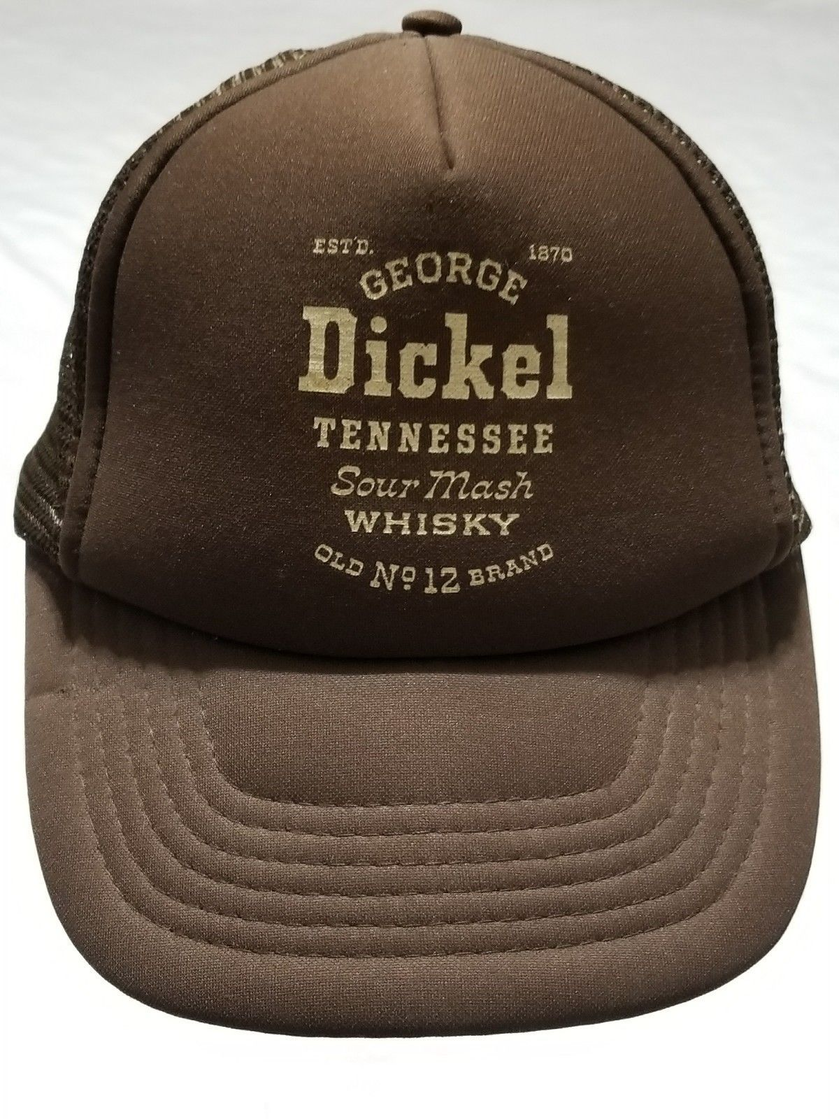 0d66aa6b3daba S l1600. S l1600. Previous. George Dickel Tennessee Sour Mash Whisky  Snapback Mesh Truckers Cap Hat Brown