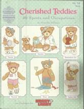 Cherished Teddies-Cross Stitch Patterns-46 Sports & Occupations - $9.46