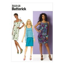 Butterick Patterns B6048 Misses' Dress Sewing Template, Size F5 (16-18-2... - $10.78