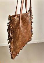 Intreccio 124 handmade woven leather bag  image 4