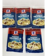 5 Pack McCormick Swedish Meatballs Seasoning & Sauce Mix 2.11 oz Exp 3/2022 - $27.71