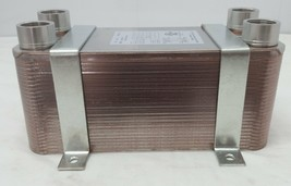 "70 Plate Water to Water Brazed Plate Heat Exchanger 1 1/4"" FPT Ports w/ ... - $205.70"