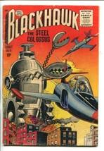 BLACKHAWK  #91-1955-ROBOTIC TERROR COVER-vg - $55.87