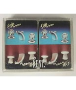 KENT Cards Double Deck Hard Case Playing Cards Casa by Moen Cardback  - $8.59