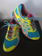 Asics Gel Franctic 7 Sneakers Shoes Running Training Size 10 Womens Multi Color image 1
