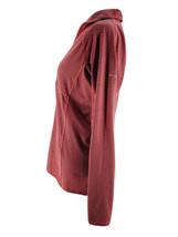 Columbia Women's Salmon Pink Striped Quarter Zip Activewear Pullover Siz... - $14.85