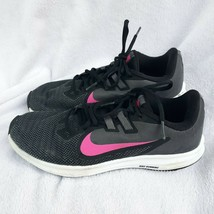 Nike DOWNSHIFTER 9 Womens sz 8.5 running shoes Black/pink-Dark Grey AQ74... - $20.00