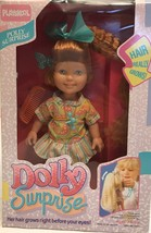 RARE 1987 Dolly Surprise Polly Surprise PLAYSKOOL hair really grows SEAL... - $23.38