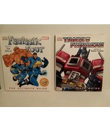MARVEL/DC: 4 DK BOOKS TRANSFORMERS, FANTASTIC FOUR, JLA, SUPERMAN FREE S... - $46.75