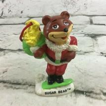 SUGAR BEAR Santa Claus Christmas Ornament General Goods Cereal Vintage 1993 - $9.89