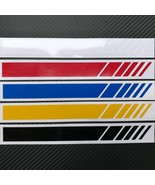 2018Racing Sports Graphics Stickers Long Stripe Auto Car Body Waist Decal - $1.06