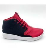 Jordan Eclipse Chukka Black White Gym Red Kids Size 4 Sneakers 881454 001 - $54.95