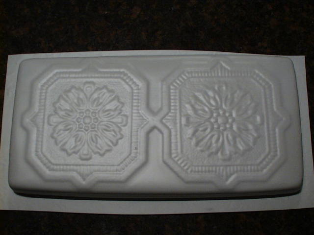 "Victorian Tile Molds (6) 6x12"" Make 100s Concrete Wall, Floor Tile @ $.15 Each"