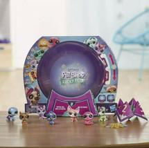 Littlest Pet Shop Lucky Pets Crystal Ball Megapack Surprise Pet Toy 15 S... - $37.14