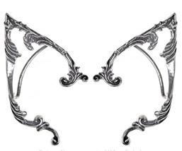 Arboreus ELF EARS Ornate Fantasy Earwraps Earrings PAIR Alchemy Gothic E390P - $58.95