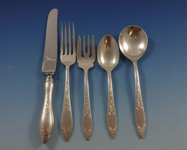 Lady Claire by Stieff Sterling Silver Flatware Set For 8 Service 44 Pieces - $2,995.00