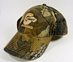 Realtree Camo Hat Cap Deer Hunting Graff Durand Adjustable New Free Ship - $14.80