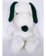 "Kohls Cares Peanuts Snoopy Dog Plush Black White Stuffed Animal 15"" - $15.30"
