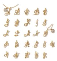 Avon Script Initial Charm in Goldtone - $9.99