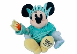 Walt Disney Plush Stuffed Animal Vtg Minnie Mouse Store Statue Liberty N... - $19.30
