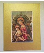 Madonna and Child  Matted Print 8 x 10 Pintoricchio - $16.40